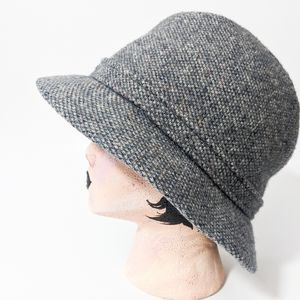 Kangol wool clipper grey hat vintage 70s heather